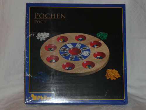 für 2-8 Spieler Vorläufer des Poker Poch, Pochspiel Pochen
