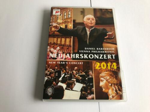 1 of 1 - New Year's Concert: 2014 - Vienna Philharmonic [DVD] REGION0 888837922890 NRMINT