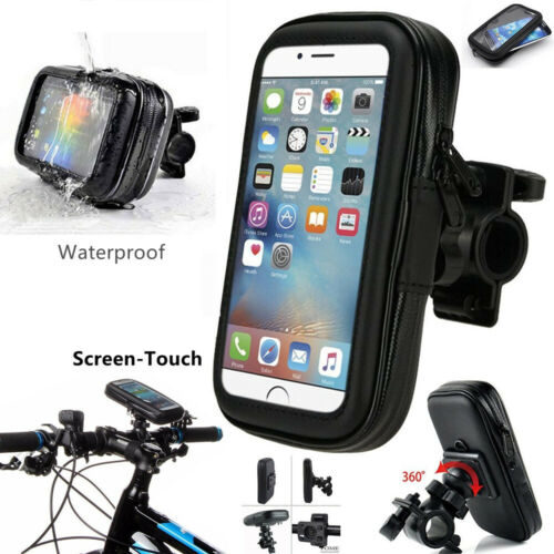 Waterproof Phone Case Mount Holder for Mobiles 360 Degree Bicycle Bike