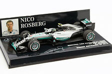 Nico Rosberg Mercedes AMG f1 w07 #6 formula 1 Weltmeister 2016 1:43 Minichamps