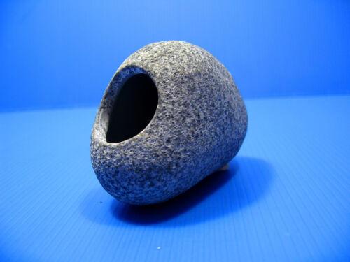 MF Ceramic Aquarium Rock Cave STONES Ornament DECOR FISH TANK S