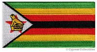 ZIMBABWE FLAG embroidered iron-on AFRICAN PATCH SOUVENIR EMBLEM BANNER AFRICA