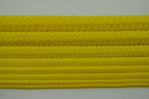 Yellow Polypropylene Rope Braided Poly Cord Line Sailing Boating Camping