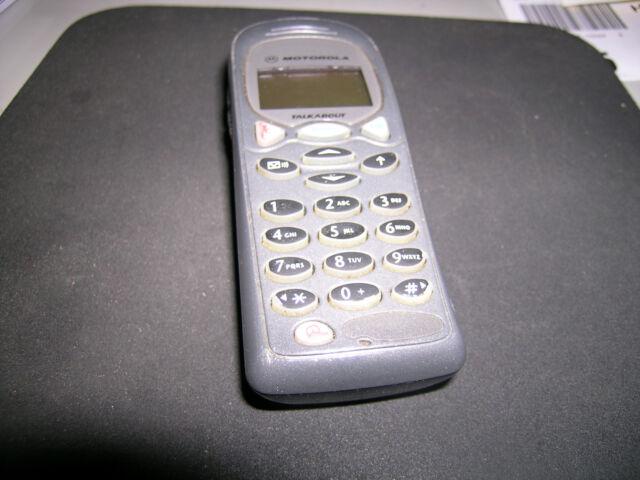 .. Sammler Motorola Baujahr 2000 Talkabout Dual Band T2288 grau