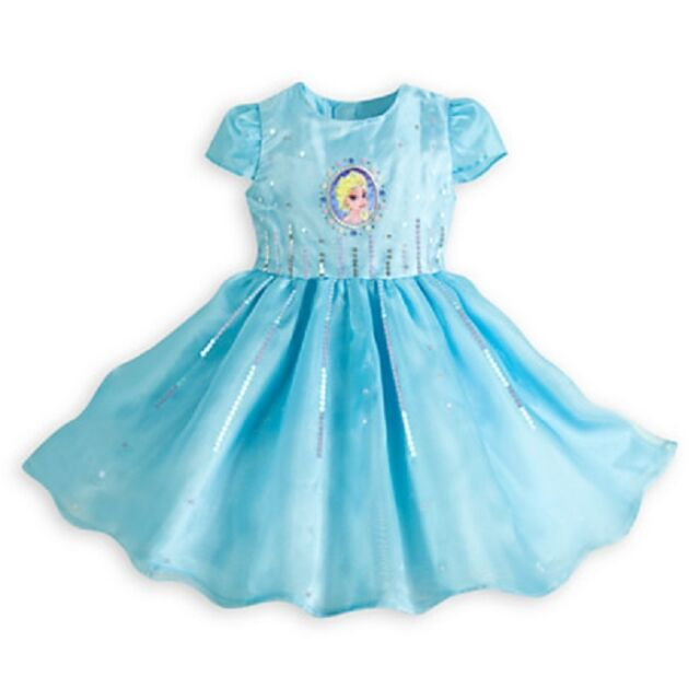 Frozen Party Dress Sequins