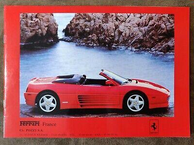 Brochure Publicitaire, Catalogue, Accessoires Ferrari France (1990)