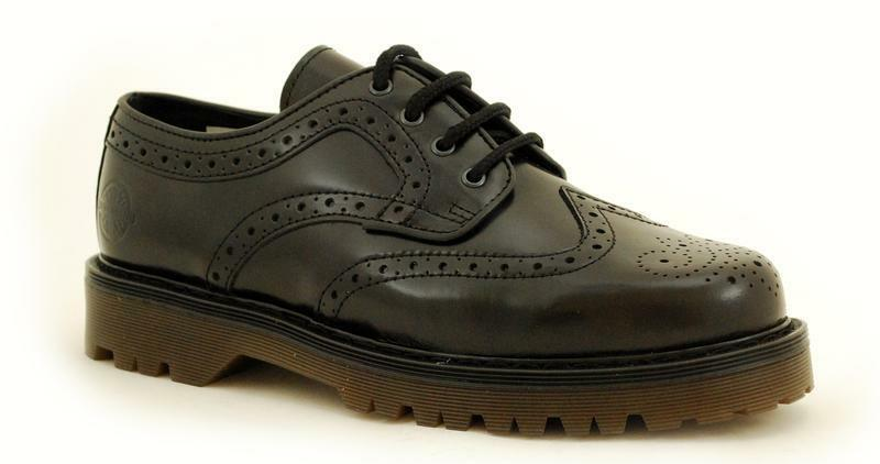 NEVERMIND 4 agujeros Bombay negro Brogue 53-111310  Extremo Oriente Import