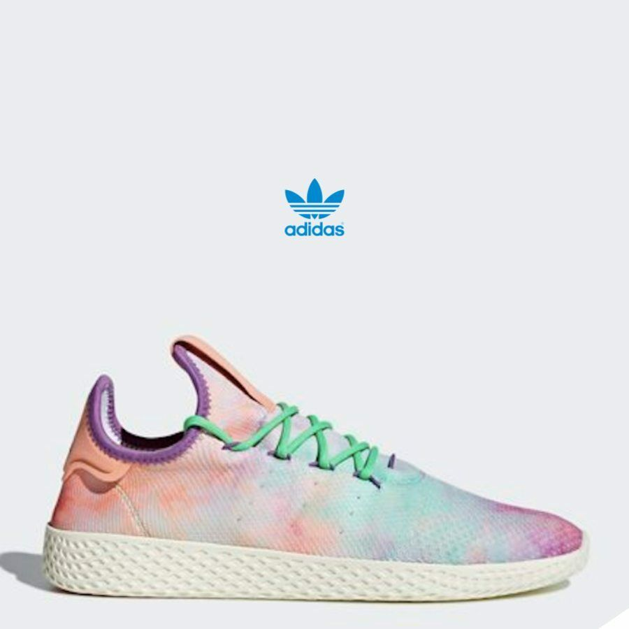 Adidas PW HU HOLL TENNIS shoes Athletic Sneaker AC7366 Multi-color Sz4-12