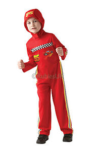 Image is loading Official-Disney-Pixar-Cars-Lightning-Mcqueen-Fancy-Dress-  sc 1 st  eBay & Official Disney Pixar Cars Lightning Mcqueen Fancy Dress Costume ...