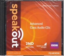 Pearson SPEAKOUT 2nd EDITION Advanced CLASS AUDIO CDs @BRAND NEW@