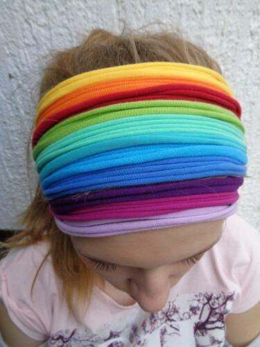 Rainbow Headband Dreadlock Headband Head Scarf Head Wrap Gay Pride LGBT Headband