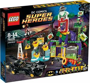 Lego Super Heroes 76035 Batman Jokerland Robin Joker Pinguin Harley Ivy
