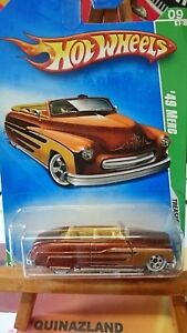 hot wheels Treasure Hunt ´49 Merc 051-2009 9985