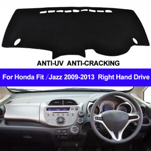 For-Honda-Jazz-Fit-2009-2012-2013-Dash-Mat-Dashboard-Cover-Right-Hand-Drive