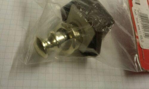 Gold Small Free postage. Push lock motorhome caravan