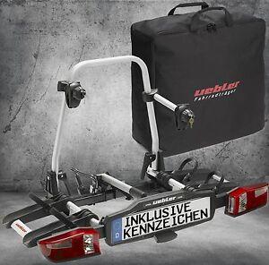 UEBLER-Fahrradtraeger-fuer-2-Raeder-inkl-Kennzeichen-X-21-S-15760-mit-Tasche-19670