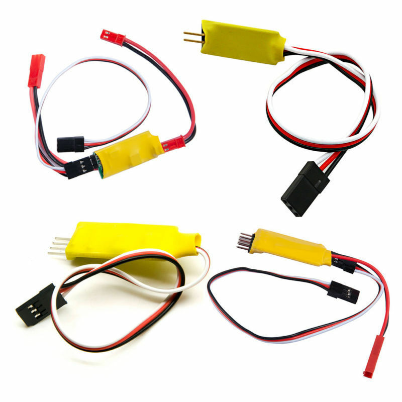 Two Channels Control Switch Receiver Cord Model Car Lights Remote For RC Car P6
