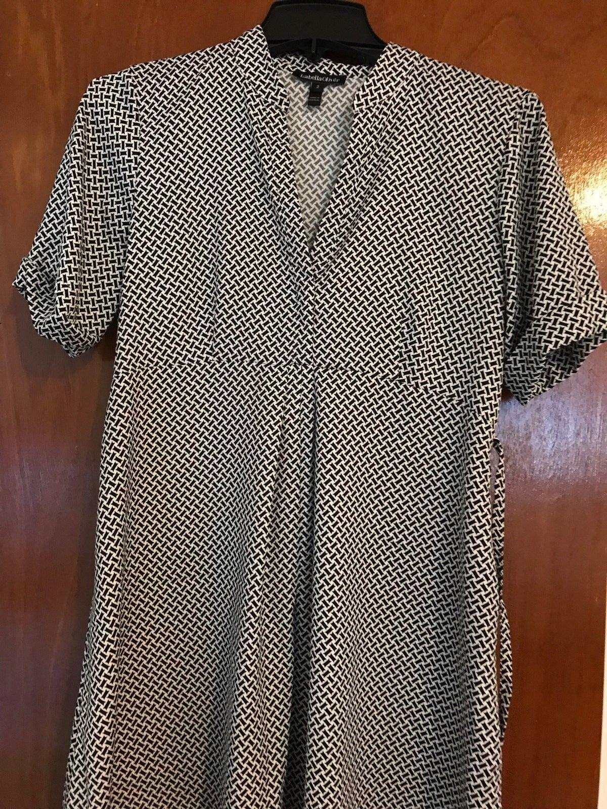 Isabella oliver polka dot dress