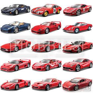 Bburago-Ferrari-Diecast-1-24-Model-Cars-Enzo-LaFarrari-California-Testarossa-F50