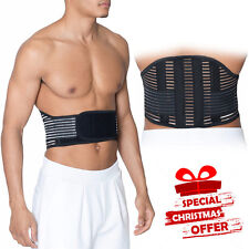 Large Lumbar Waist Breathable Back Support Belt Backache Pain Relief Waist Work