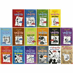 Diary Of A Wimpy Kid 16 Book Box Set Complete 2020 Collection Paperback Gift Set Ebay