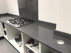 Grey Dark Flecks Platinum Quartz Kitchen Worktop Affordable Prices