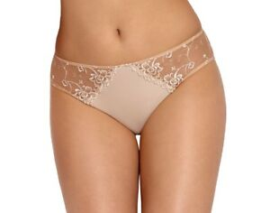 UK 8-14 Women Lingerie BELLA White Floral Embroidered Thongs S-XL by Wiesmann