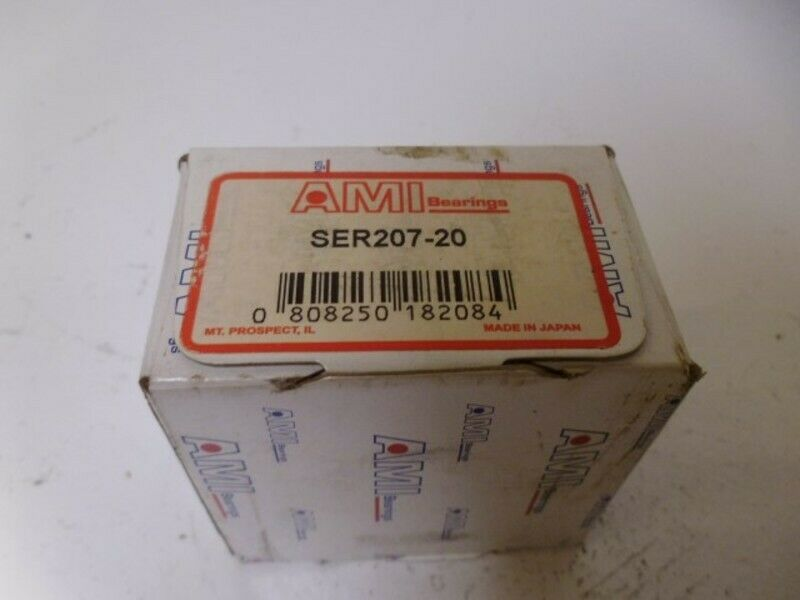 AMI SER207-20 BEARING NEW IN BOX