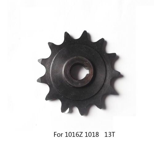 Sprocket 13T For Uninet 1016Z2 1016Z3 1018 Gear Motor Balck Metal Useful Durable