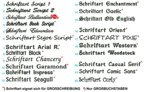 Kochhut Bistrohut Kochmütze bestickt Wunschtext Name Koch-Mütze Bistromütze NEU