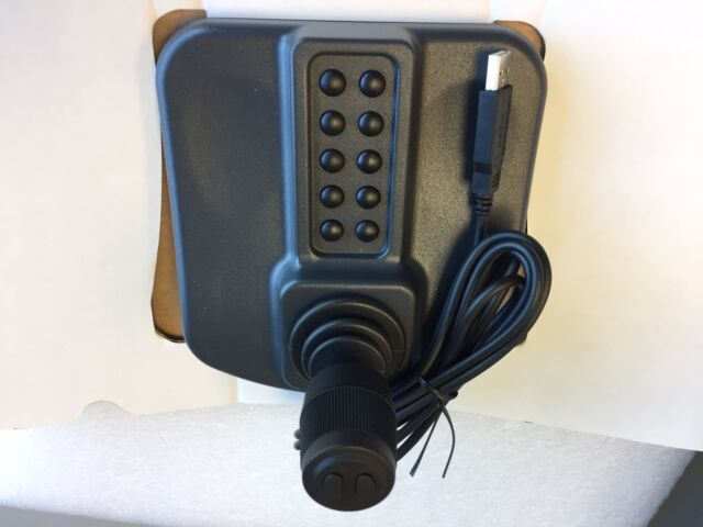 CH Products IP Desktop Joystick IPD-USB CCTV 12 Button 3 Axis New in Box