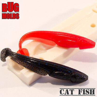 Lure Mold Fishing Soft Plastic Mold Fischköderform molde de pesca Cover Craw