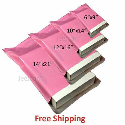"""320x440mm 20 x STRONG PINK 13x17/"""" MAILING POSTAL POLY POSTAGE BAGS 13/""""x17/"""""""
