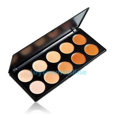 10 Colors Pro Salon/Party Contour Camouflage Face Cream Makeup Concealer Palette