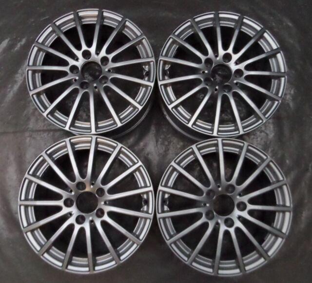4 Orig Mercedes-Benz Llantas de Aluminio 6.5Jx16 ET38 A2054012502 Clase C W205