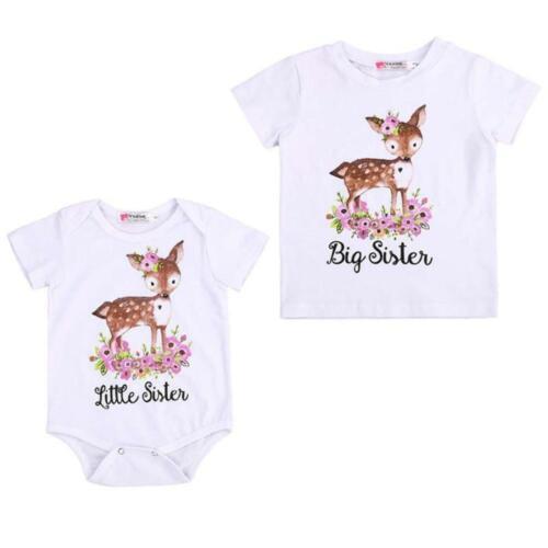 Big Sister Little Sister Deer Tops