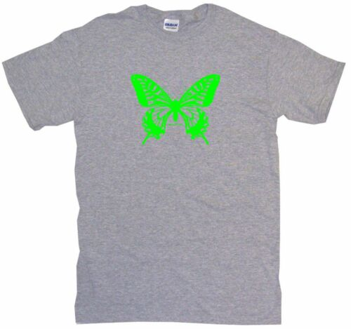 Butterfly Green Full Logo Kids Tee Shirt Boys Girls Unisex 2T-XL