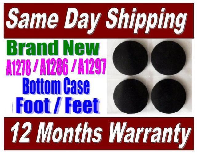 "4pc Unibody Bottom Case Rubber Feet Foot Pad for Apple MacBook Pro 13/"" 15/"" 17/"" #"