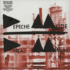 DEPECHE MODE DELTA MACHINE LIMITED EDITION  DOUBLE VINYL LP + MP3