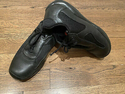 NEW Avia Leather /& Mesh Athletic Shoes Black Brown Boy/'s Size 7 1//2