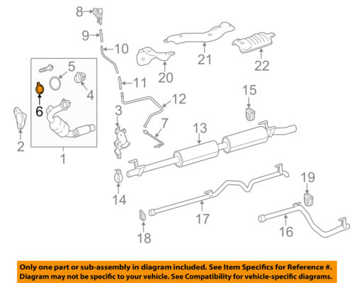 MERCEDES OEM 17-18 E400 3.0L-V6 Exhaust System-Elbow Clamp 2034900641
