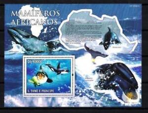 """Saint Thomas et prince 2010 baleines bloc n° 540 neuf ** 1er choix - France - Commentaires du vendeur : """"neuf 1er choix"""" - France"""