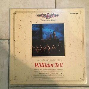 Rossini-Tell-Muti-Teatro-alla-Scala-2-X-LaserDisc-1991-Rai-USA-near-mint
