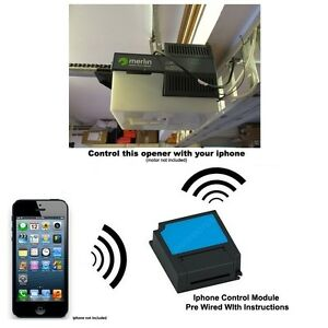 Image Is Loading Iphone Remote Control Your Merlin Prolift 230t Garage