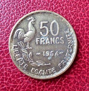 France-Rare-monnaie-de-50-Francs-1954-B
