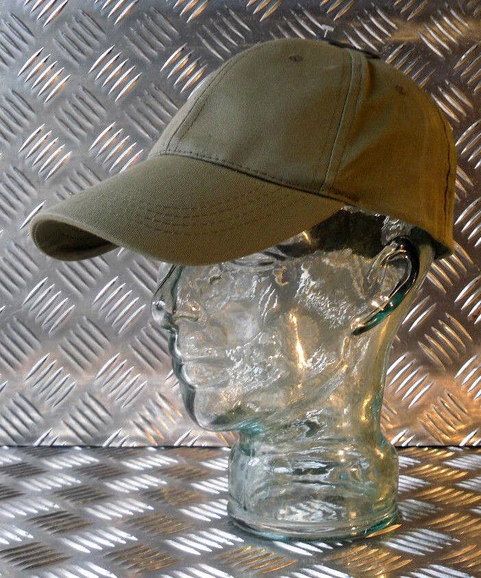 100% Vrai 100% Coton Réglable Vert Baseball Hat/cap No Logos-neuf Distinctive Pour Ses PropriéTéS Traditionnelles