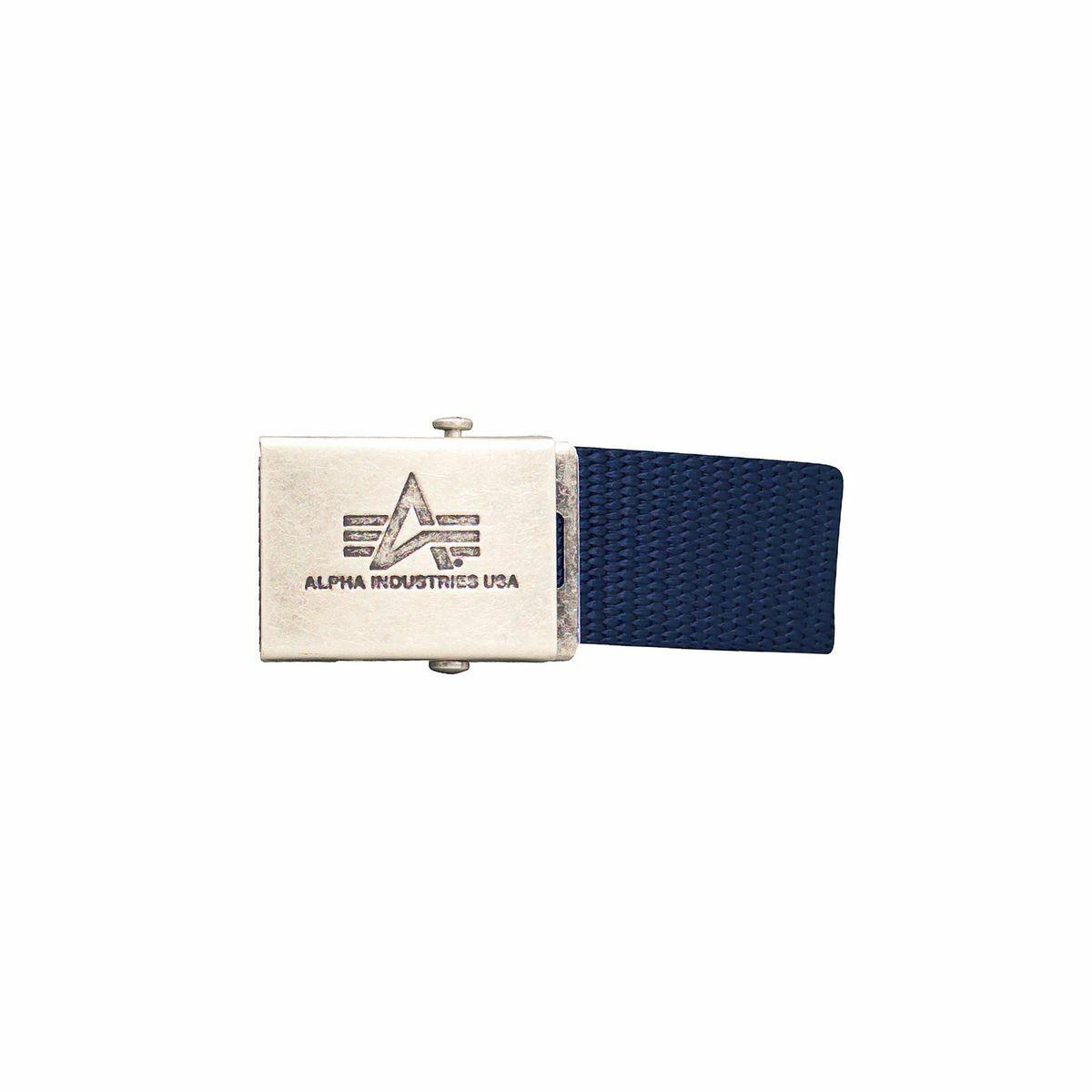 Alpha Industries Heavy Duty Belt 4 cm Belt Blue