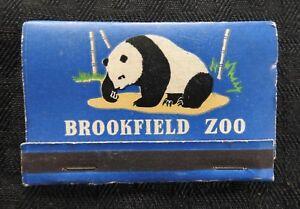 c.1939 SU LIN PANDA BEAR SNOW MONKEY BROOKFIELD ZOO LARGE MATCHBOOK RARE & NICE