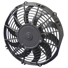 """SPAL 10"""" MID PERFORMANCE ELECTRIC PULLER COOLING FAN CURVED (802 CFM)"""