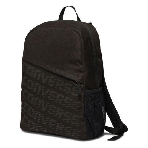 Nero Velocità Backpac 10005247 Converse Originale Wordmark a01 StTPF